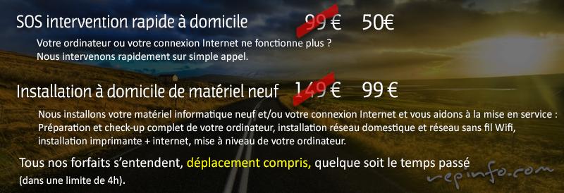 TARIFS Marseille dépannage informatique a domicile